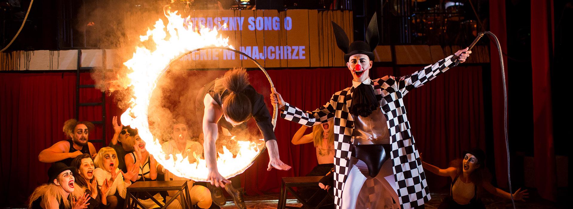 Teatr Variete Opera za 3 grosze Baner