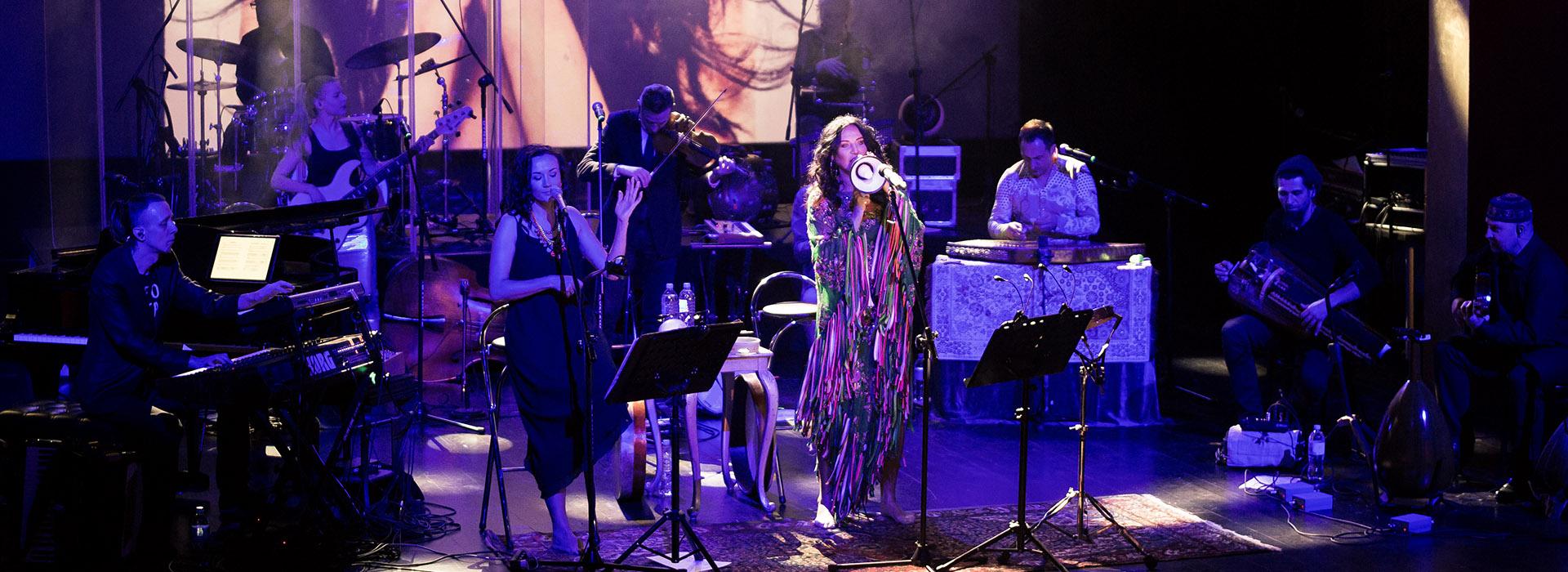 Teatr Variete Kayah & Transoriental orchestra Baner